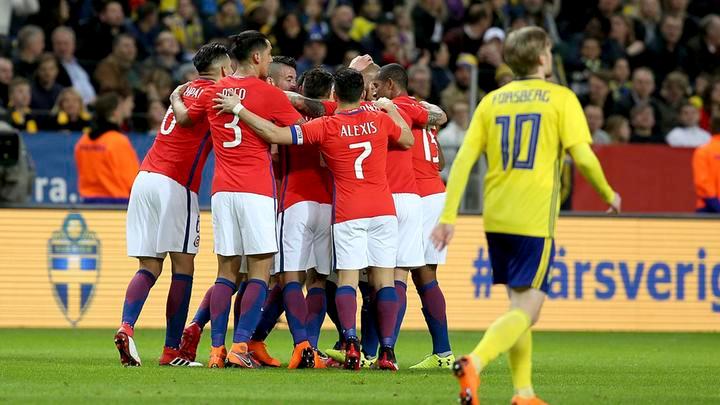 Chile vs Suecia
