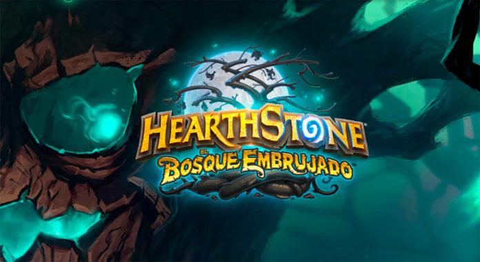 hearthstone bosque embrujado horario lanzamiento expansión
