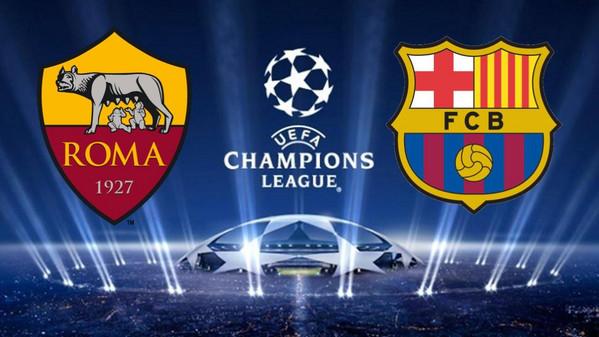 roma barcelona horarios transmisión partido vuelta champions league