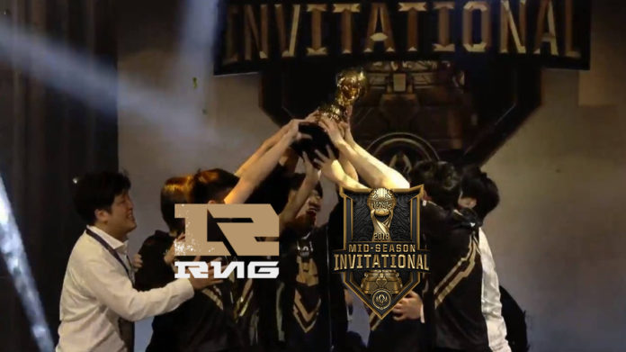 uzi campeon royal never give up msi 2018