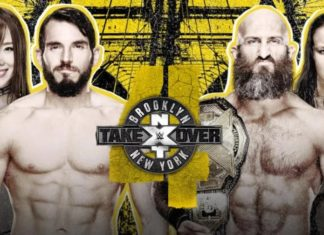 wwe nxt takeover brooklyn iv resultados