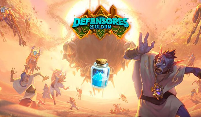mazos baratos defensores uldum hearthstone