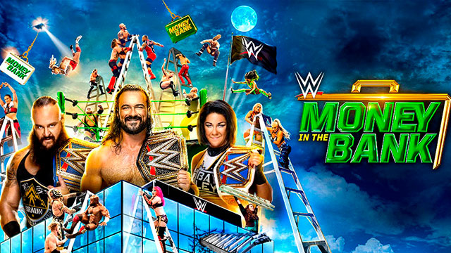 wwe money in the bank 2020 horarios